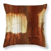 Rust 06 Throw Pillow