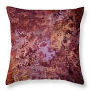 Rust Autumn Throw Pillow