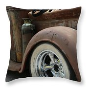 Rust In Peace 4 Throw Pillow