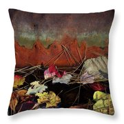 Rust Throw Pillow