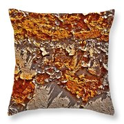 Rust On A Pipe Throw Pillow