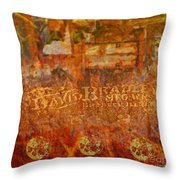 Rusted Glory 313 Throw Pillow