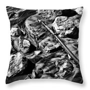 Rusted Pipe Throw Pillow
