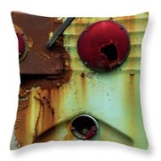 Rusted Series 5 Throw Pillow