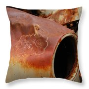 Rusted Throw Pillow