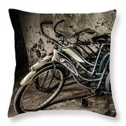 Rusted Vintage Throw Pillow