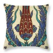 Rusten Pasha Tulip Tile Throw Pillow