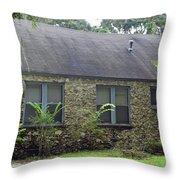 Rustic Chert Home Throw Pillow