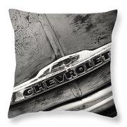 Rustic Chevrolet Throw Pillow