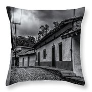Rustic Copala Throw Pillow