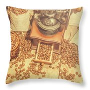 Rustic Country Coffee House Still Throw Pillow