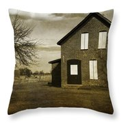 Rustic County Farm House Throw Pillow
