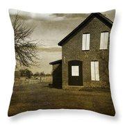 Rustic County Farm House Throw Pillow