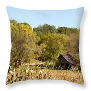 Rustic Escape Throw Pillow