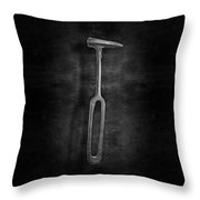 Rustic Hammer In Bw Throw Pillow