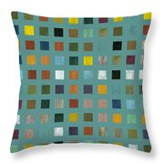 Rustic Wooden Abstract Vl Throw Pillow