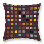 Rustic Wooden Abstract Vlll Throw Pillow