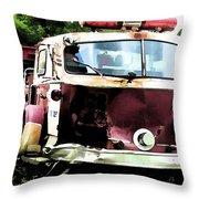 Rusting Alf Throw Pillow