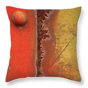 Rusting Throw Pillow