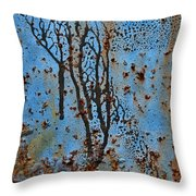 Rustscape Throw Pillow