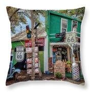 Rusty Bolt Seligman Az Throw Pillow