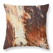 Rusty Drum #1 Throw Pillow