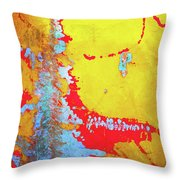Rusty Expressions Throw Pillow