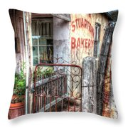 Rusty Gate. Throw Pillow by Ian  Ramsay