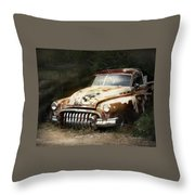 Rusty Ghost Throw Pillow