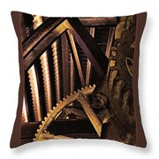 Rusty Ghosts Throw Pillow