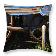 Rusty Old Bicycle . 7d15946 Throw Pillow
