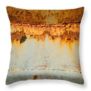 Rusty Peel Throw Pillow