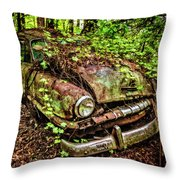 Rusty Plymouth Throw Pillow