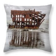 Rusty Reflections Throw Pillow