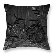 Rusty Ride Throw Pillow
