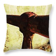 Rusty Times Throw Pillow