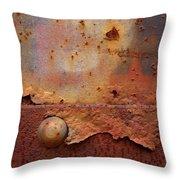 Rusty Train  Throw Pillow