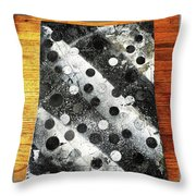 Rusty Winter Throw Pillow