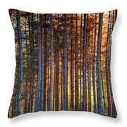 Rusy Forest Throw Pillow