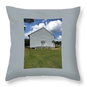 Rutledge Primitive Baptist Church Throw Pillow