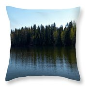 Ruutanajarvi Throw Pillow