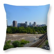 RVA Throw Pillow