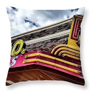 Rx Great Falls, Mt Throw Pillow