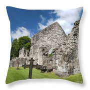 Rya Kyrkoruin Throw Pillow