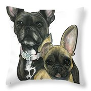 Ryan 3865 Throw Pillow