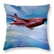 Ryan Bqm-34 Firebee Target Drone Missile Throw Pillow