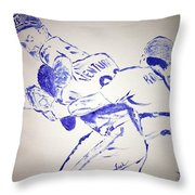 Ryan Vs Ventura Throw Pillow