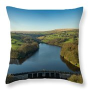 Ryburn Reservoir Throw Pillow