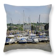 Ryde Harbour Throw Pillow