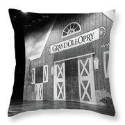 Ryman Opry Stage Throw Pillow